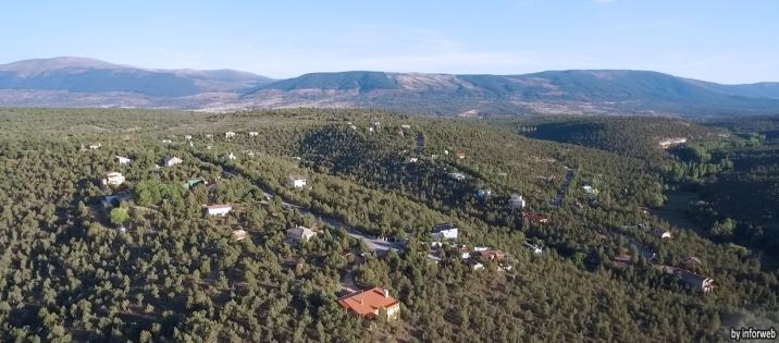 El Monte de Los Cortos - Vista aérea 1